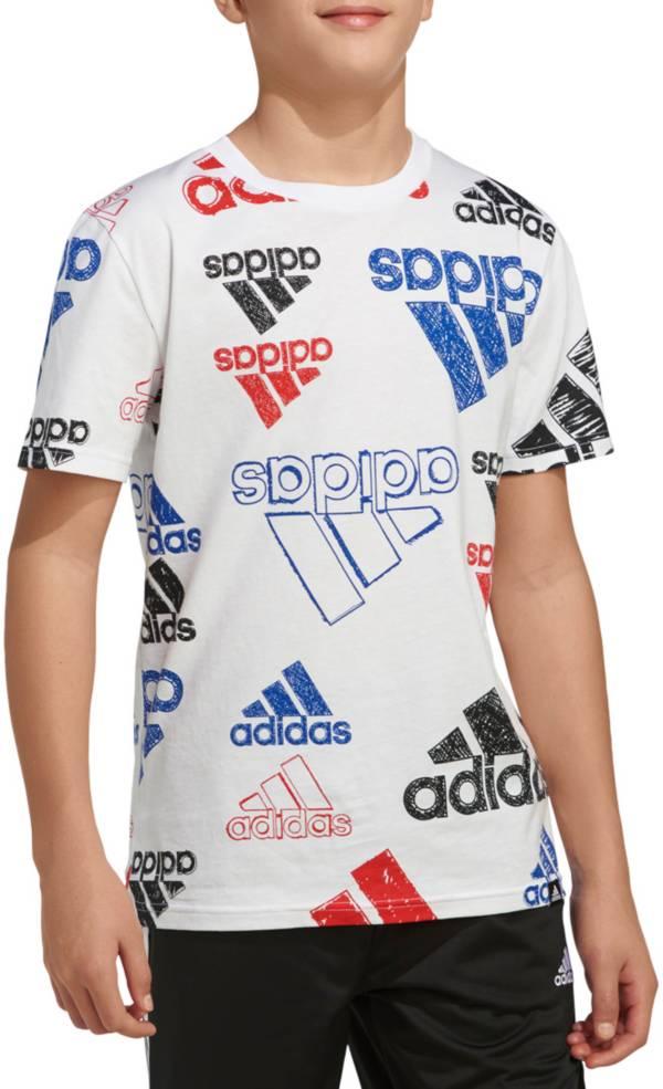 adidas Boys' Brand Love Sketch T-shirt product image