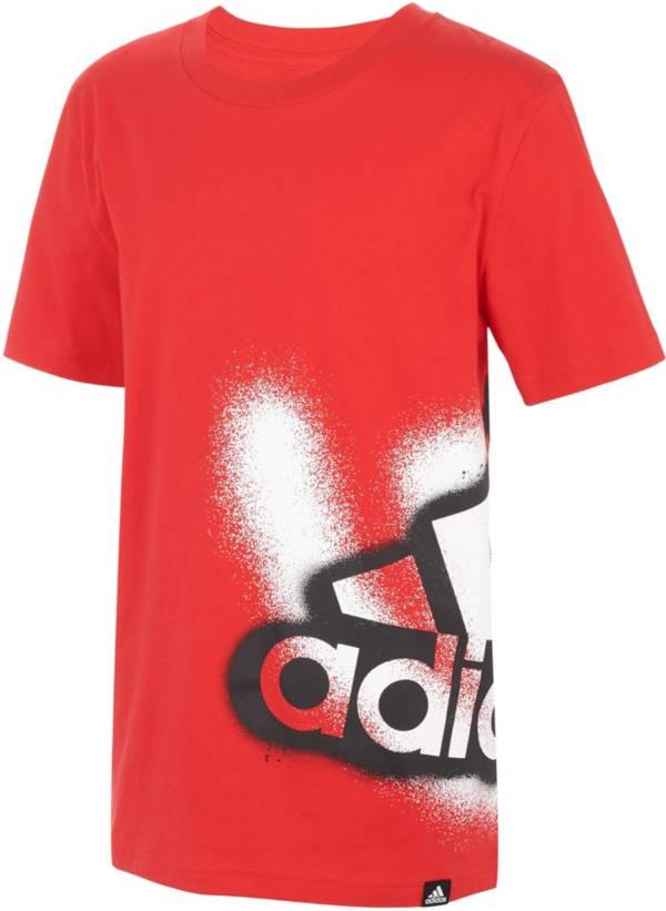 adidas Boys' Graffiti Wrap Short Sleeve T-Shirt product image