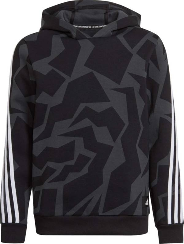 adidas Kids' Future Icons 3-Stripes Graphic Hoodie product image