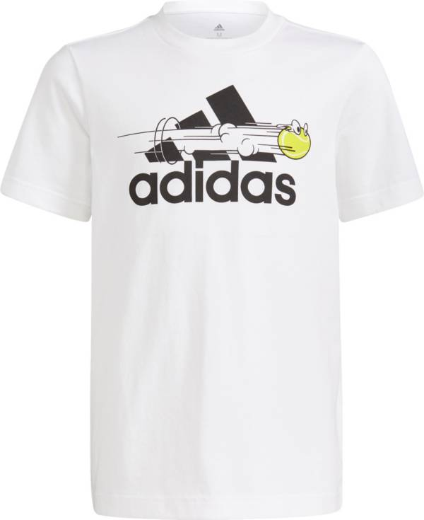 adidas Boys Tennis Graphic Logo T-Shirt product image