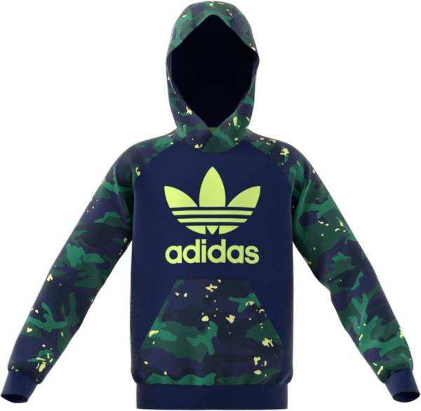 adidas Kids' Allover Print Pack Camo Print Hoodie product image