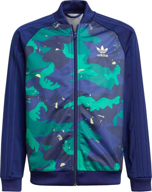 adidas Kids' Allover Print Pack Camo Print SST Top product image