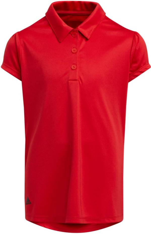 Adidas Girls' Performance Polo Shirt product image