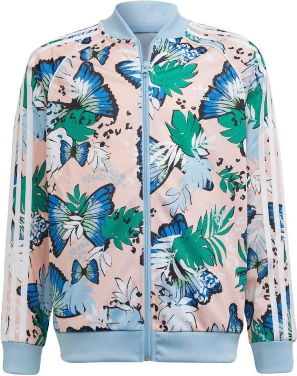adidas HER Studio London Girls' Animal Flower Printed Track Jacket product image