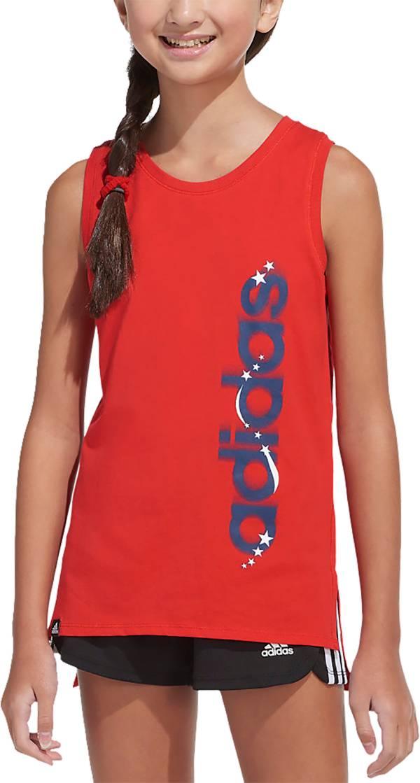 adidas Girls' Americana Muscle Tank Top product image