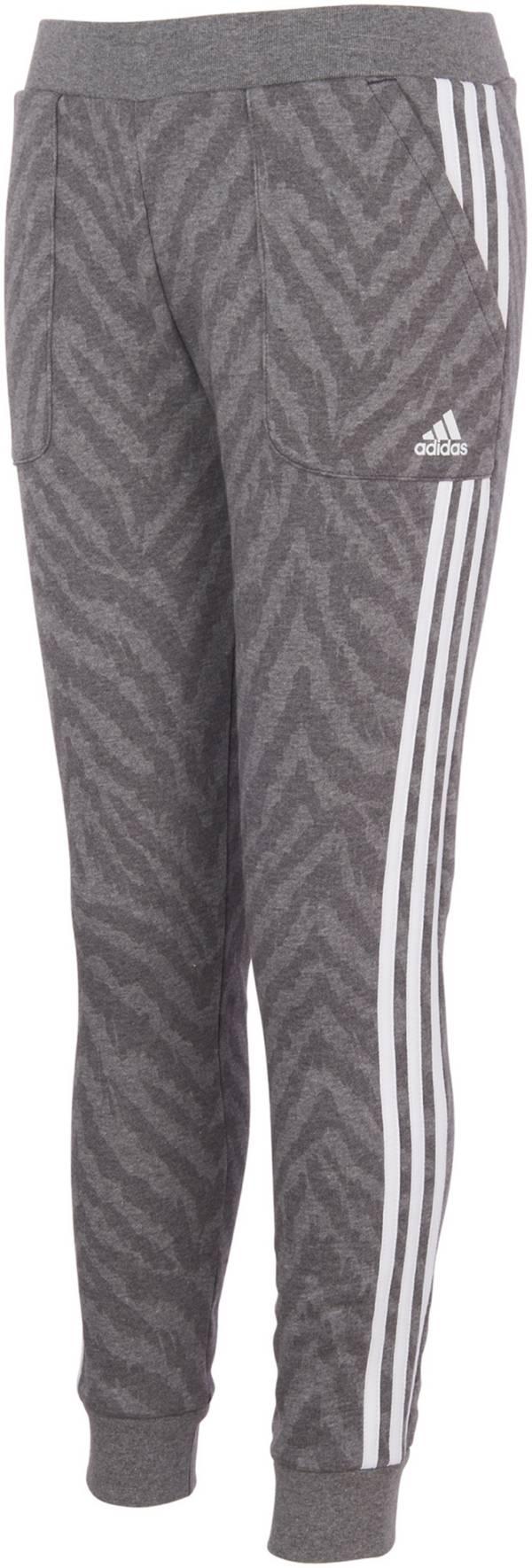 adidas Girls' AOP Fleece Jogger product image