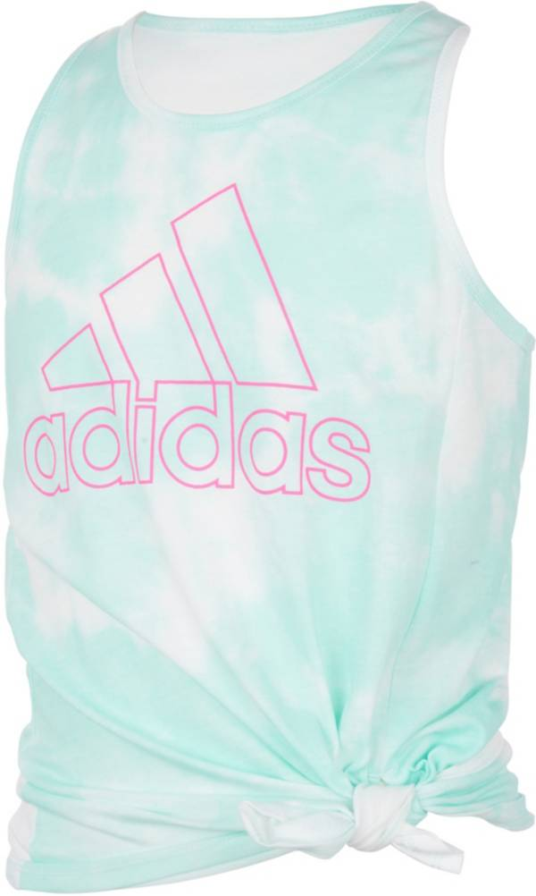 adidas Girls' Print Tie Front Tank Top product image