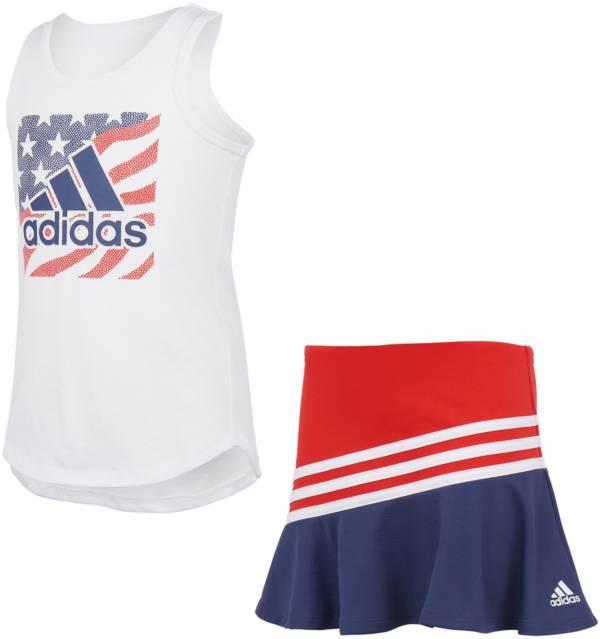 adidas Little Girls' Tank Top and Sport Skort Set product image