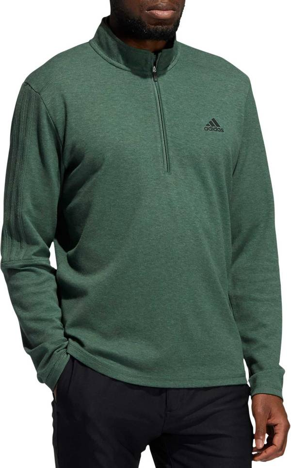 adidas Men's 3-Stripes Quarter Zip Golf Pullover product image