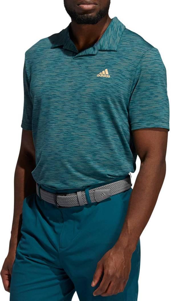 adidas Men's Stripe HEAT.RDY Polo Shirt product image