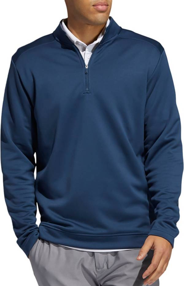 Adidas Men's Club Recycled Polyester 1/4 Zip Golf Pullover product image