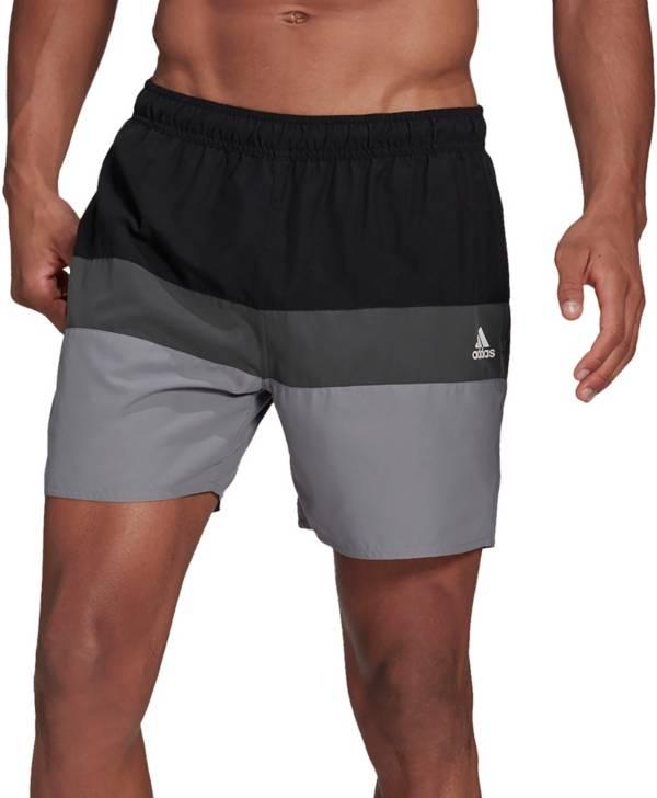 adidas Men's Short-Length Colorblock Swim Trunks product image