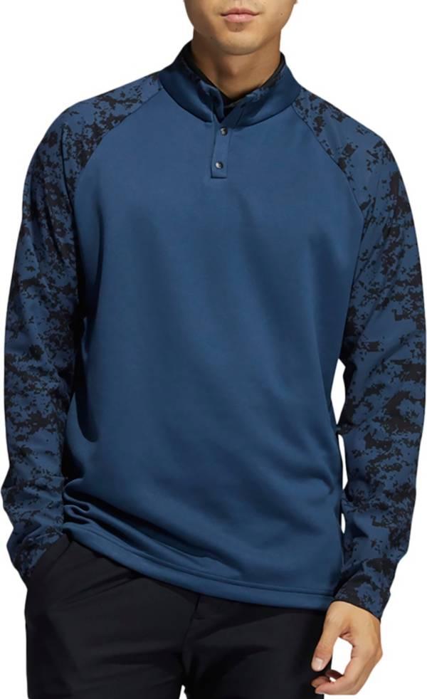 Adidas Men's Camo Hybrid Recycled Polyester Golf Sweatshirt product image