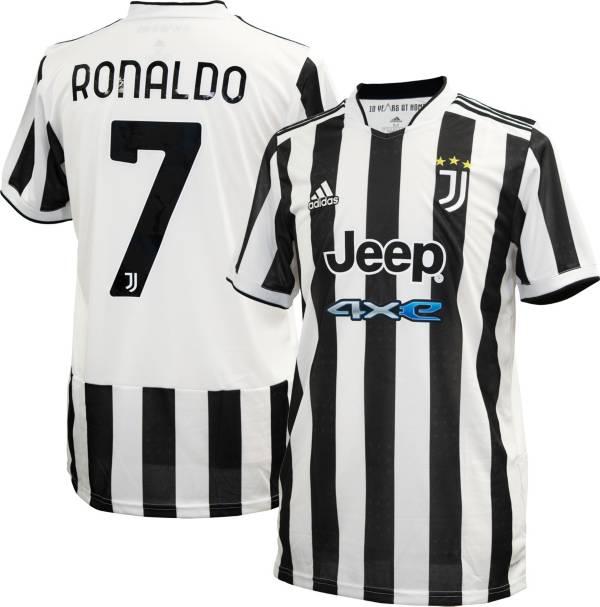 adidas Youth Juventus '21 Cristiano Ronaldo #7 Home Replica Jersey product image
