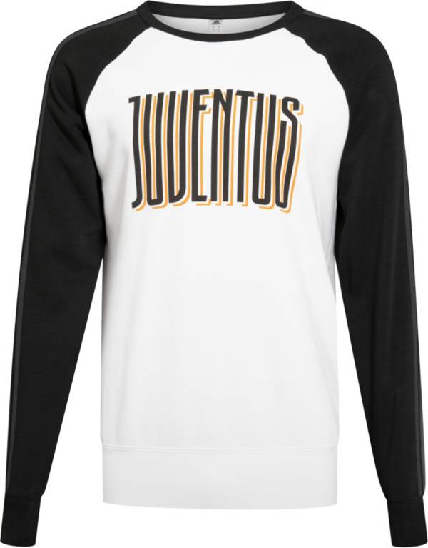 adidas Men's Juventus Black/White Crew Neck Sweatshirt product image