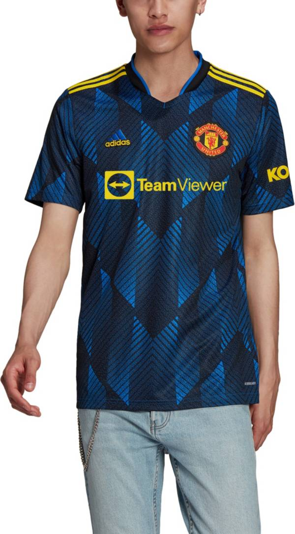 adidas Men's Manchester United '21 Third Replica Jersey product image
