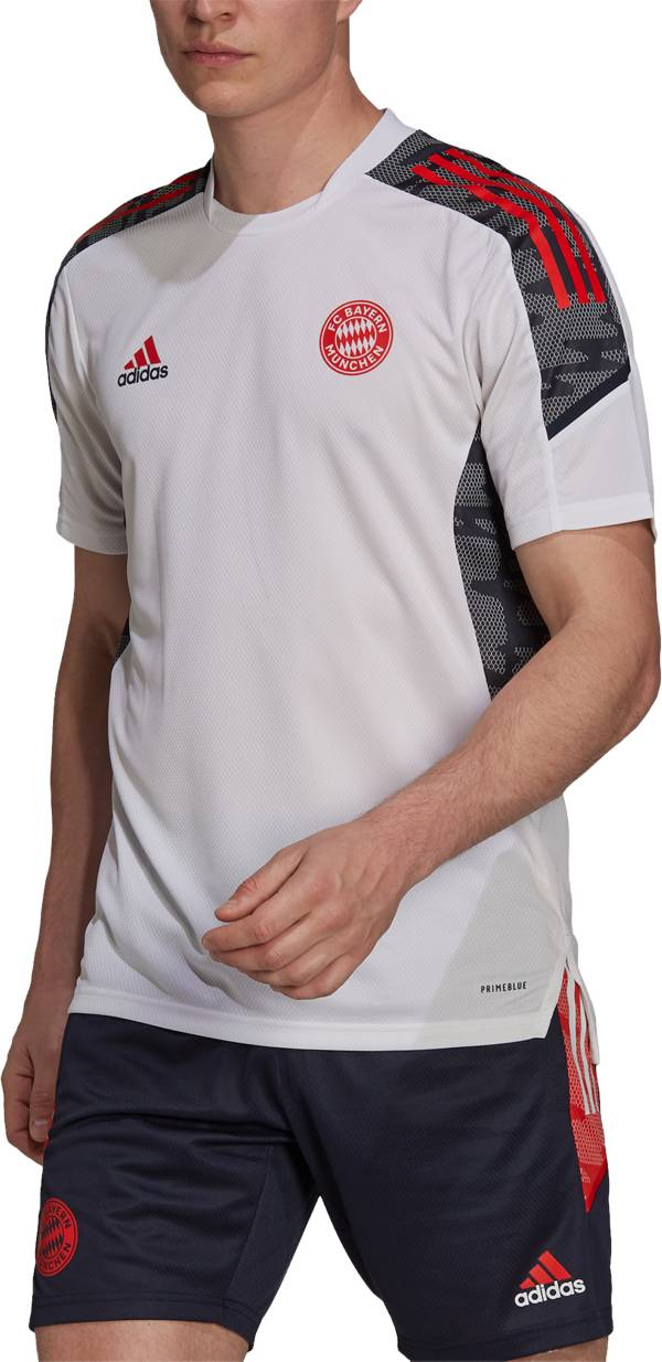 adidas Men's Bayern Munich '21 PrimeBlue Training Jersey product image