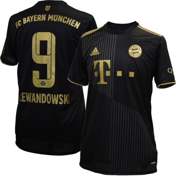 adidas Men's Bayern Munich '21 Robert Lewandowski #9 Away Replica Jersey product image