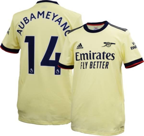 adidas Men's Arsenal Pierre-Emerick Aubameyang #14 Away Replica Jersey product image