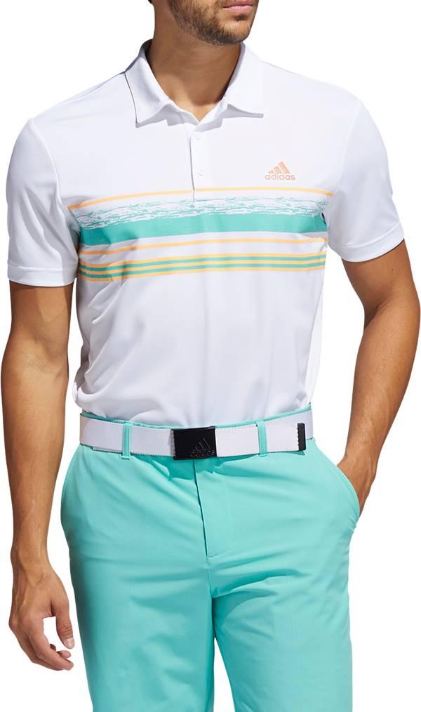 adidas Men's Novelty Core Stripe Polo Shirt product image