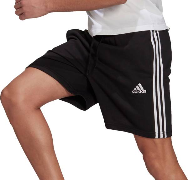 adidas Men's Essentials French Terry 3-Stripes Shorts product image