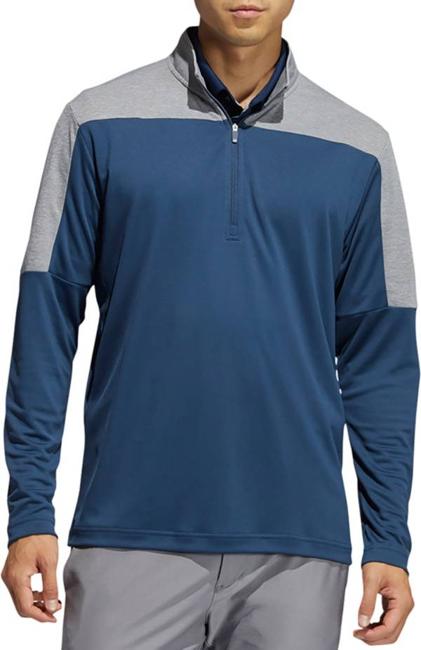 adidas Men's Lightweight Recycled Polyester 1/4 Zip Golf Pullover product image