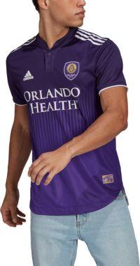 adidas Men's Orlando City '21-'22 Primary Authentic Jersey