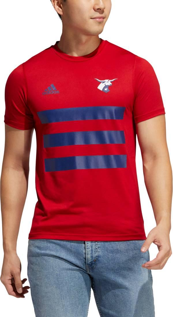 adidas Men's FC Dallas 3SL Red T-Shirt product image