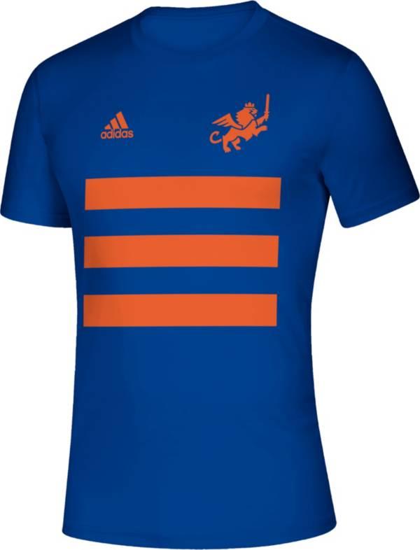 adidas Men's FC Cincinnati 3SL Royal T-Shirt product image