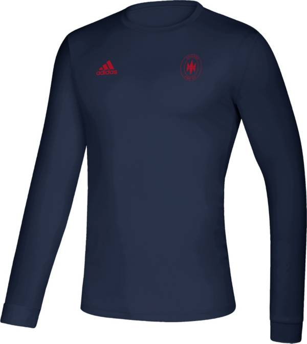 adidas Men's Chicago Fire Megs Navy T-Shirt product image