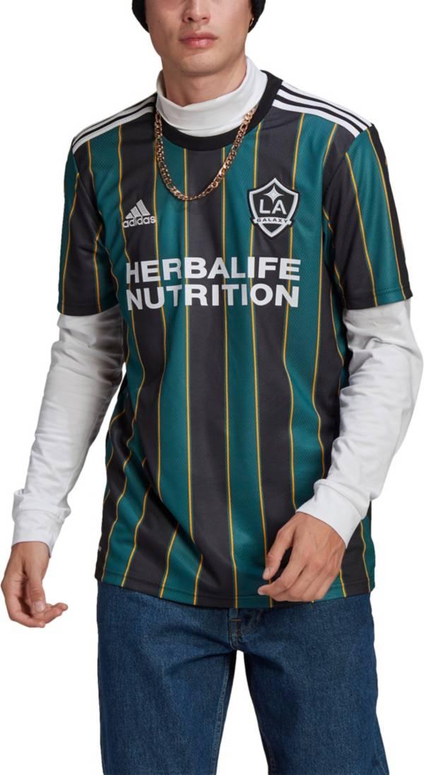 adidas Men's Los Angeles Galaxy '21-'22 Secondary Replica Jersey product image