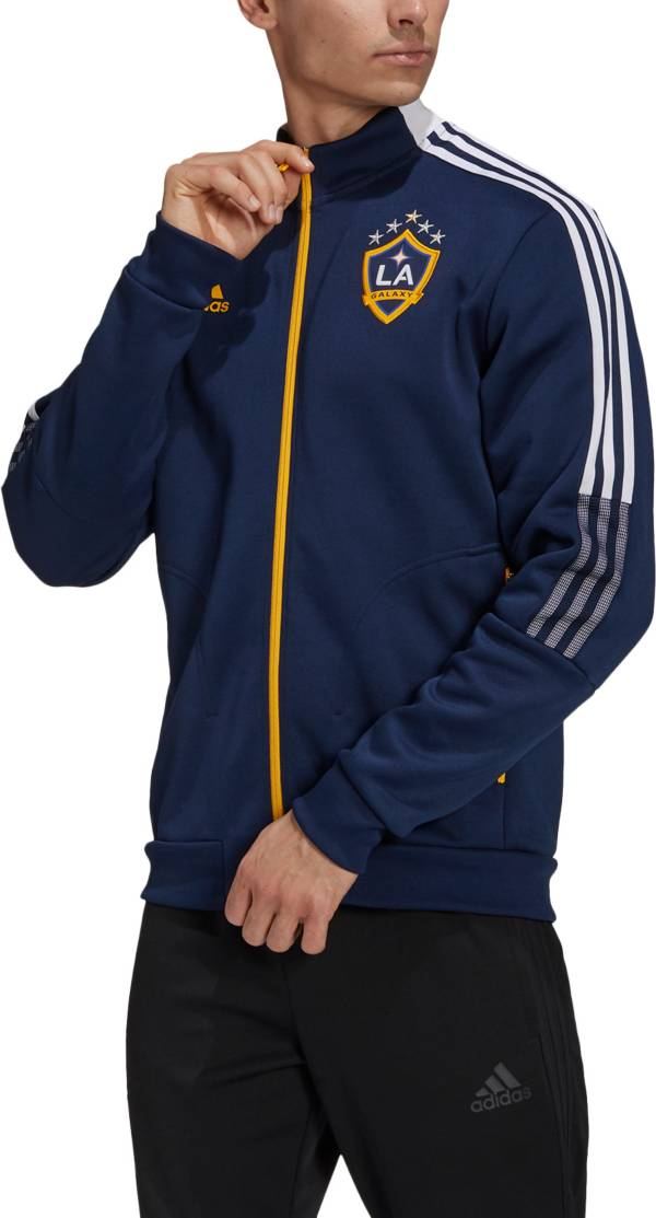 adidas Men's Los Angeles Galaxy Anthem Navy Jacket product image