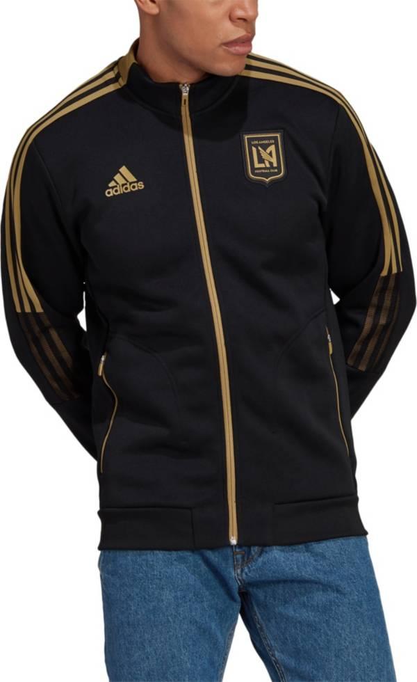 adidas Men's Los Angeles FC Anthem Black Jacket product image