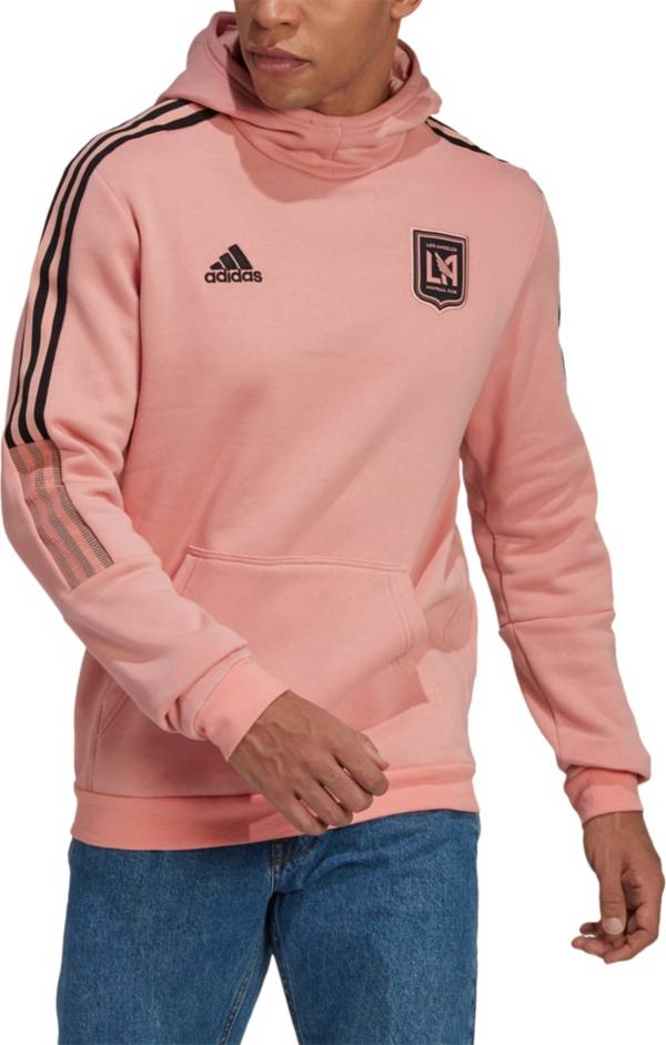 adidas Men's Los Angeles FC Travel Gold Pullover Hoodie product image