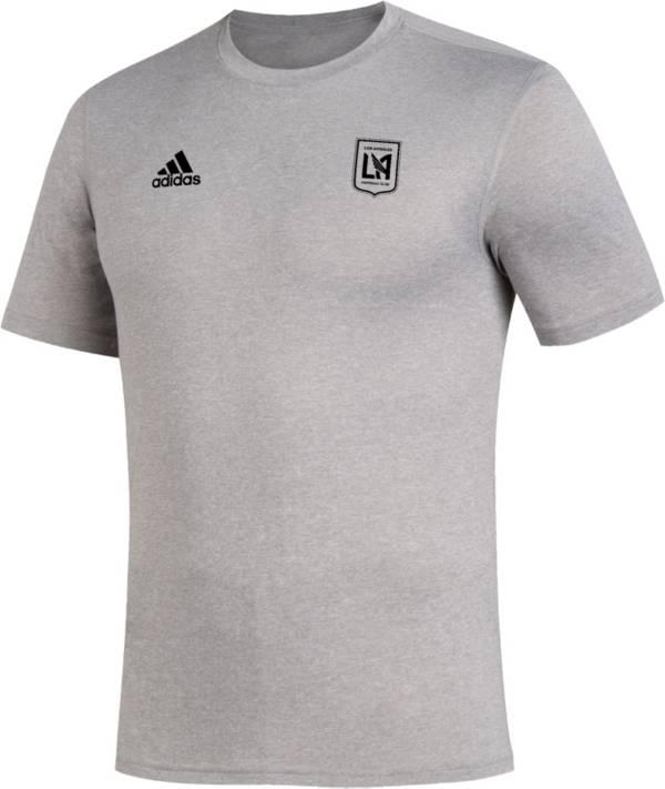 adidas Men's Los Angeles FC Megs Grey T-Shirt product image