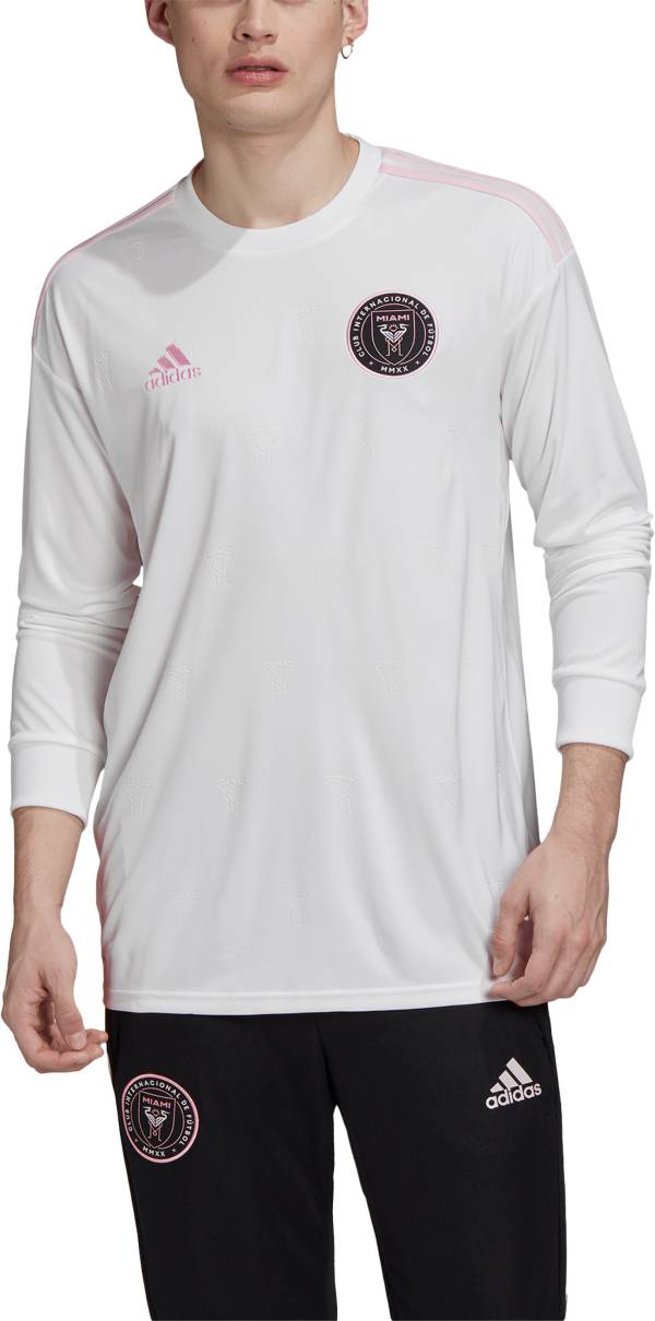 adidas Men's Inter Miami CF '20-'21 Primary Replica Long Sleeve Jersey product image