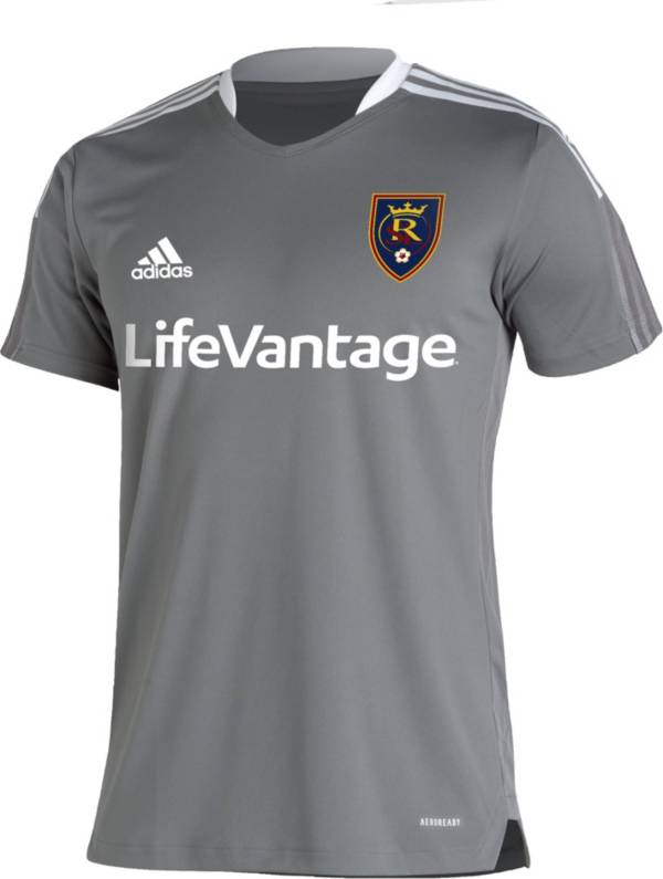 adidas Men's Real Salt Lake Grey Training Jersey product image