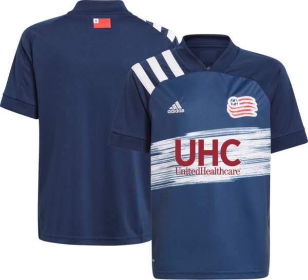adidas Youth New England Revolution '21 Home Replica Jersey product image