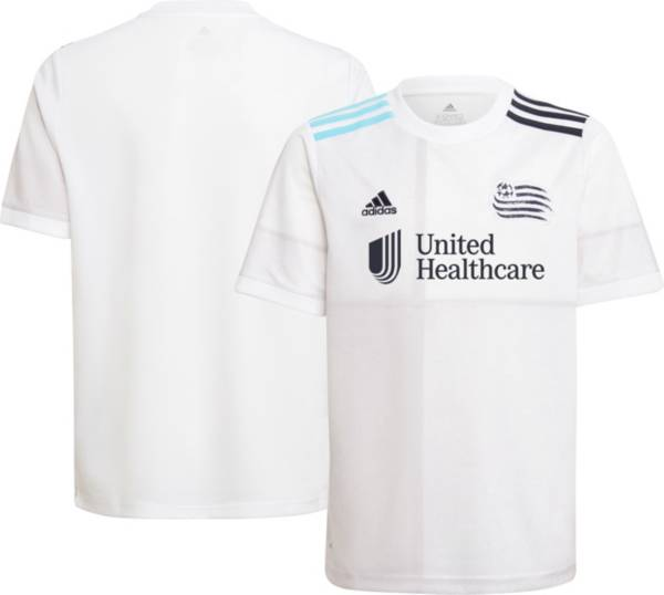 adidas Youth New England Revolution '21-'22 Secondary Replica Jersey product image