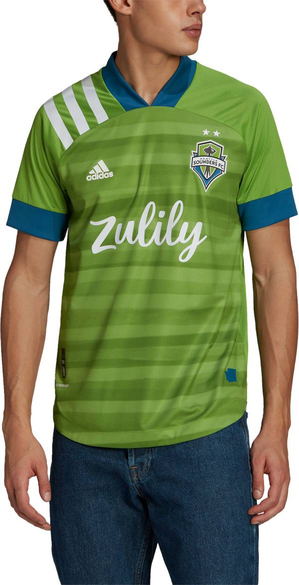 adidas Men's Seattle Sounders '20-'21 Primary Authentic Jersey product image