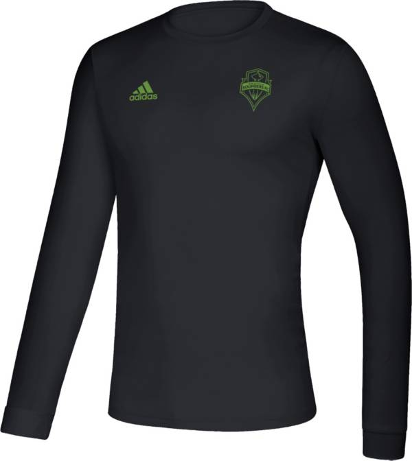 adidas Men's Seattle Sounders Megs Black T-Shirt product image