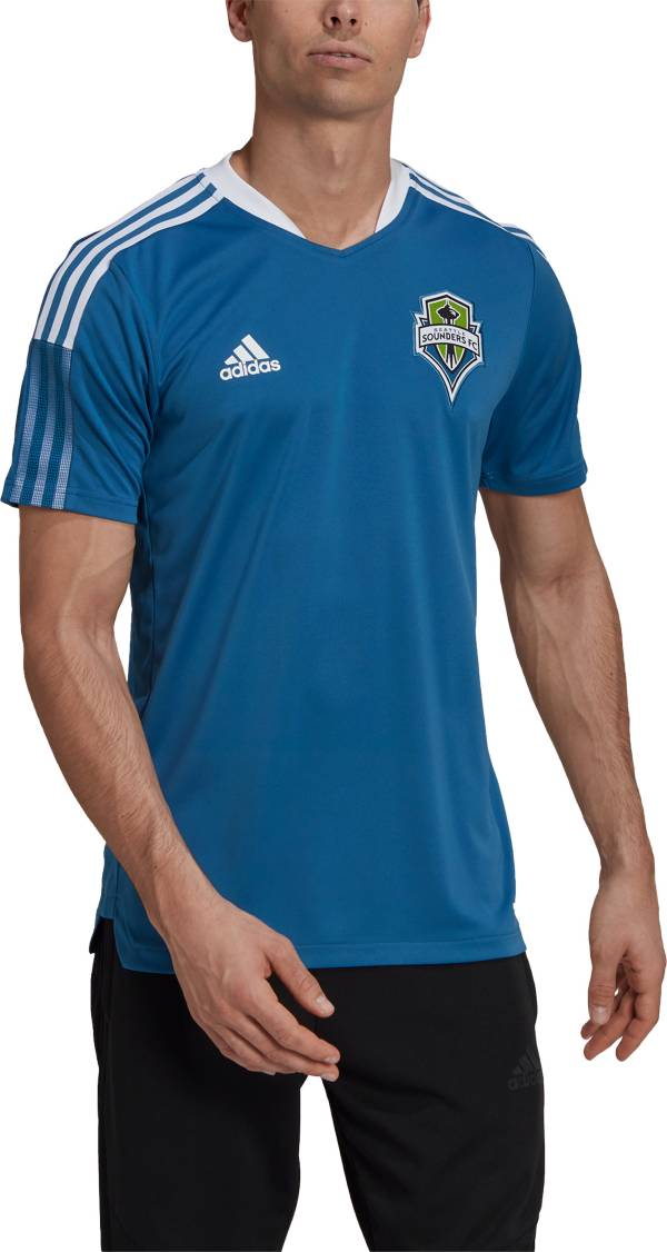 adidas Men's Seattle Sounders Teal Training Jersey product image