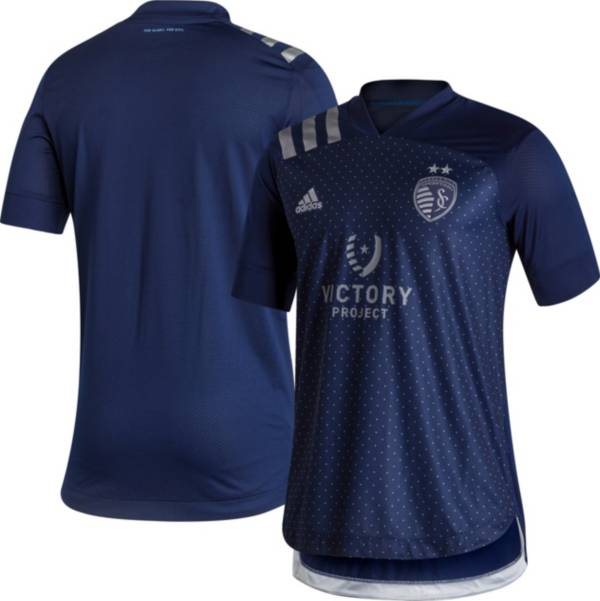 adidas Men's Sporting Kansas City '20-'21 Secondary Authentic Replica Jersey product image