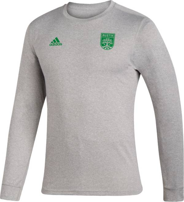 adidas Men's Austin FC Creator Heather Grey T-Shirt product image