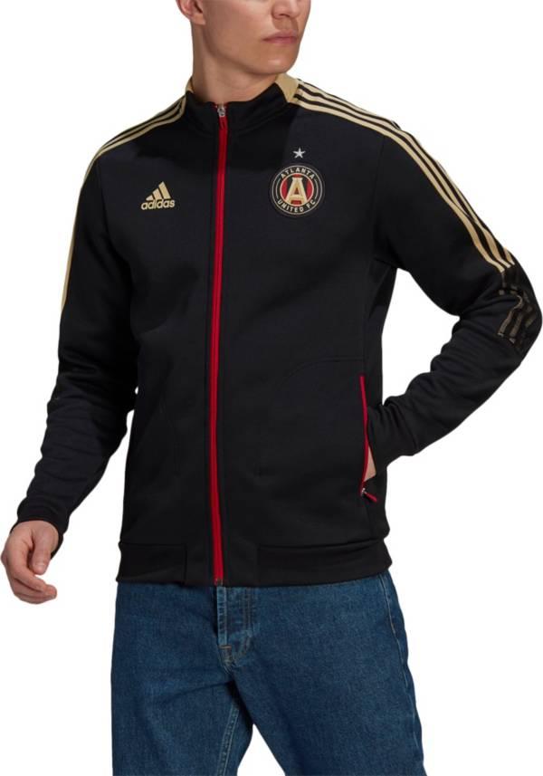 adidas Men's Atlanta United Anthem Black Jacket product image