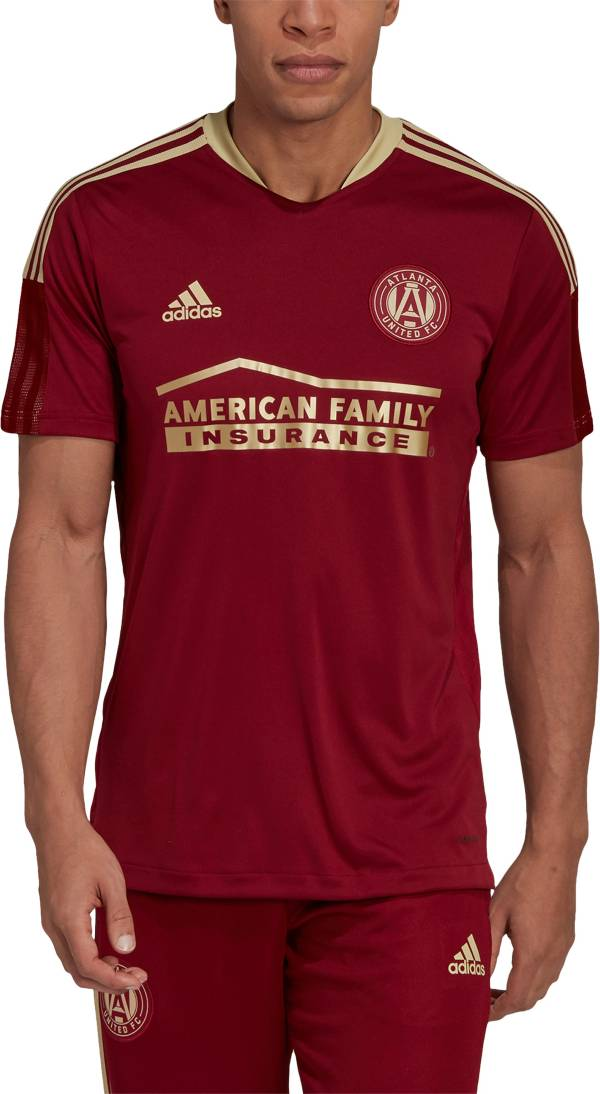 adidas Men's Atlanta United Red Training Jersey product image