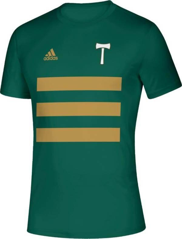 adidas Men's Portland Timbers 3SL Green T-Shirt product image