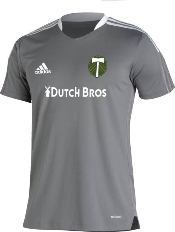adidas Men's Portland Timbers Grey Training Jersey product image