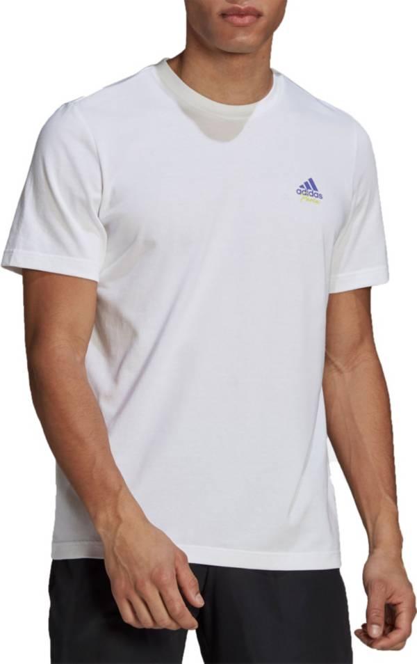 adidas Men's Tennis Graphic Logo T-Shirt product image