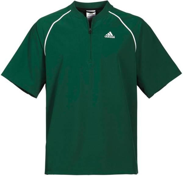 adidas Men's Triple Stripe Short Sleeve Batting Jacket product image